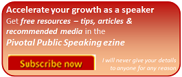 Accelerate your growth as a speaker