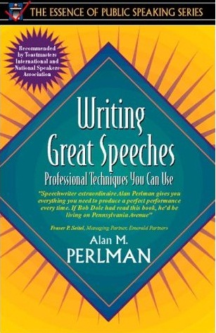 writing a great speech By far, the best way to learn how to write speeches is to read the great ones, from pericles' funeral oration, to dr king's mountaintop speech, to faulkner's.